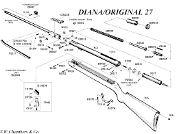 27 Diana Original Airgun Spares Chambers Gunmakers