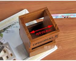 office desktop stationery z wood storage box small things can make a mini cartridge pen