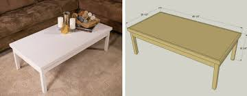 gorgeous simple coffee table with super simple coffee table kreg tool company