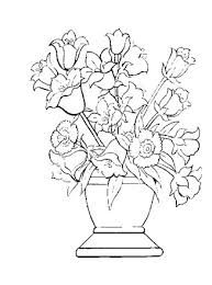 Flowers, flowers coloring pages, flowers coloring sheets, free flowers coloring pages, online flowers coloring pages, flowers pictures. Flowers Coloring Page Flowers For Coloring All Kids Network