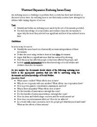 enduring issue westward expansion essay by the social studies place enduring issue westward expansion essay