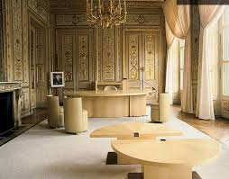 The office for the Ministry of Culture and Communication in Paris. [1985]