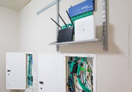 future proofing your smart home with structured media components rh digitized house home network closet diy