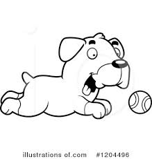 Small Picture Rottweiler Clipart 1204496 Illustration by Cory Thoman