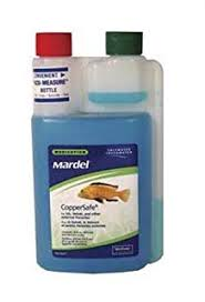 Mardel Fish Disease Chart Mardel Coppersafe Fish Treatment Freshwater Saltwater 16