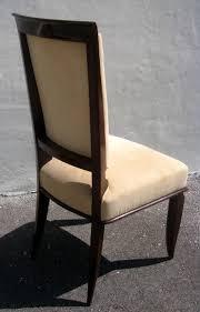 six jules leleu french art deco dining chairs art deco dining chair