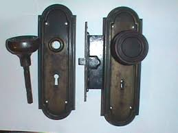 Exterior Antique Door Knobs antique ornate brass entry door knob