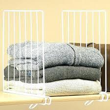 closet shelf dividers closet shelf dividers closet shelf dividers wire closet shelf divider wire closet shelf