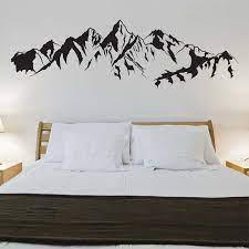 mountain vinyl wall art decal