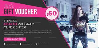 coupon design promotional fitness coupon design template in word psd pages