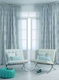 Modern Style Curtains Living Room Marvelous Curtain Ideas For Living Room Decorated With Soft Blue