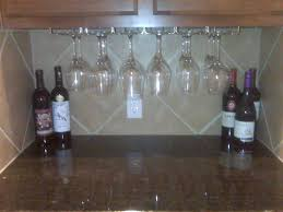 wine rack enchanting under shelf wine rack 46 under cabinet wine glass rack wood full