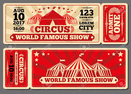 circus magic show entrance vector tickets templates ticket for circus magic show entrance vector tickets templates ticket for entrance to circus and illustration template