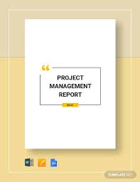 Project Management Report Templates 29 Sample Reports Pdf Word Apple Pages