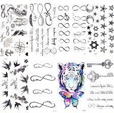 черные слова эскиз татуировки для женщин палец временная татуировка