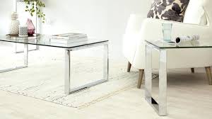 glass end tables modern coffee table set chrome and bedside uk