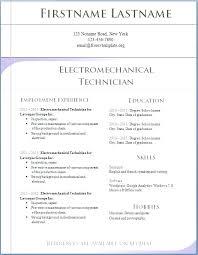 Resume Microsoft Curriculum Vitae Template Word 2007 Free
