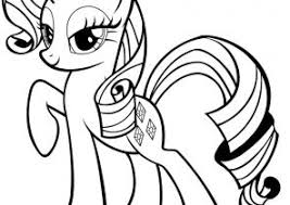Small Picture My Little Pony Coloring Pages Coloring4Freecom