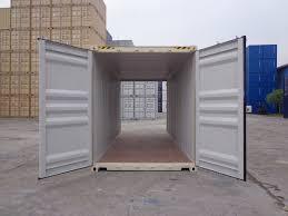 double door open. 20 Ft Container Double Door - Beige Doors Open R