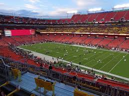 Fedex Field Seating Chart View Fedexfield View From Zone B Club 338 Vivid Seats