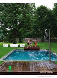 30. A Pool Shower