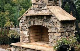 small outdoor patio and backyard medium size outside stone fireplace outdoor fireplaces for patios natural