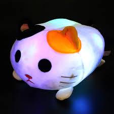 Amazon Com Houwsbaby Light Up Cat Stuffed Animal Led Kitten