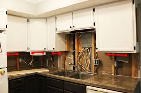 kitchen cabinet valance installation