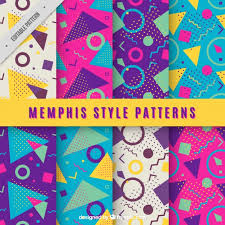 Colorful Patterns Fascinating Colorful Geometric Patterns Vector Free Download