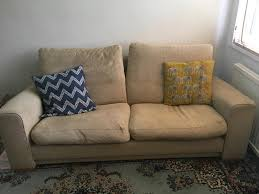 comfy 2 seater sofa free to collect