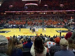 John Paul Jones Arena Section 113 Home Of Virginia Cavaliers