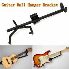 horizontal guitar wall hanger bracket
