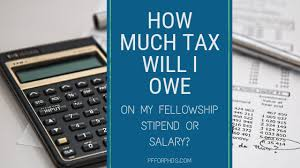 wisconsin paycheck calculator how much tax will i owe on my fellowship stipend or salary