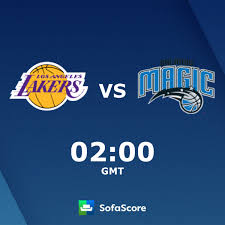 Los Angeles Lakers Orlando Magic live score, video stream and H2H results -  SofaScore
