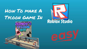 Make Roblox How To Make A Tycoon Game In Roblox Studio Easy Youtube