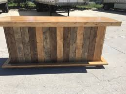 Barnwood Bar the maggie 8 rustic finished barnwood or pallet style bar 8655 by xevi.us