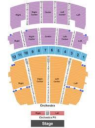 Stifel Theatre Seating Chart St Louis