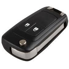 <b>Mayitr</b> 2 <b>Button</b> Folding <b>Flip</b> Remote Key Fob Case Shell for ...