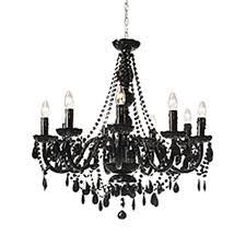 luxe bianca 8 arm chandelier