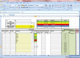 excel spreadsheet download cycle time calculation using excel sheet download