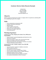 Good Resume For Customer Service Free Resume Example And Writing