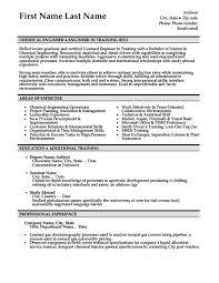 Chemical Engineer Sample Resume 19 Resume Sample For Fresh Graduate