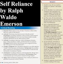 critical reading answers homework online 6 apply which of emerson s statements if any would you choose as a guideline for personal conduct explain