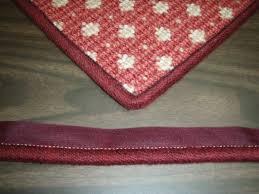 carpet binding. instabind™ cotton serge binding style carpet d