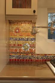 18 Gleaming Mosaic Kitchen Backsplash Designs Gallery