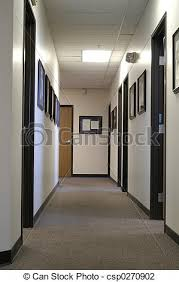 Office Hallway  Csp0270902