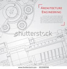 architectural engineering blueprints.  Architectural Vector Technical Blueprint Of Mechanism Engineer Illustration Set  Corporate Identity Templates Architecture With Architectural Engineering Blueprints E