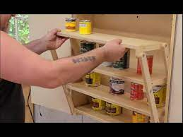 diy folding cabinet for tiny homes and