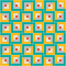 Make Your Own Log Cabin Quilt Pattern - Suzy Quilts & Layout Example 3. Log-Cabin-Quilt-Tutorial Adamdwight.com