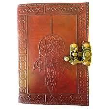 dreamcatcher leather journal w latch 5 x 7